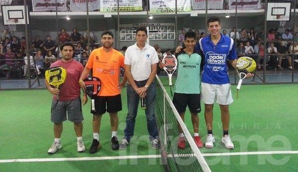 Chingotto y Tello fueron campeones en 25 de Mayo