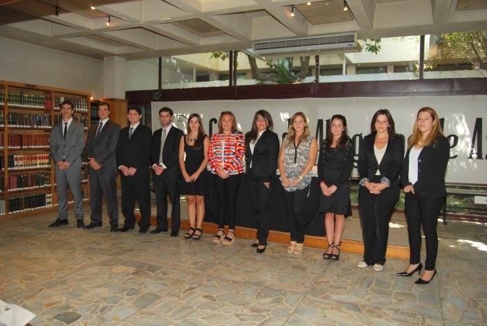 Nuevos profesionales juraron en el Colegio de Abogados de Azul