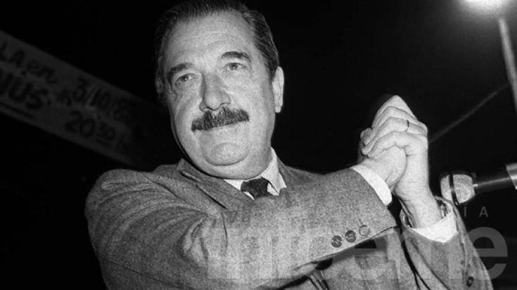 La UCR conmemora a Raúl Alfonsín