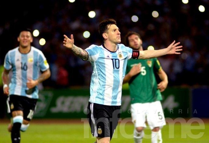 Argentina venció a Bolivia y cerró una semana ideal