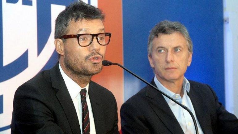 Macri recibió a Tinelli en la Quinta de Olivos