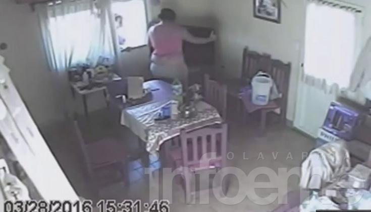 Allanamientos por el robo filmado