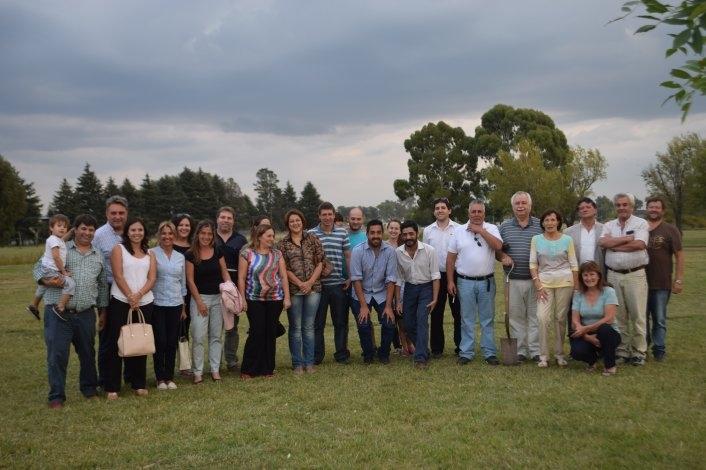 La UCR recordó a Raúl Alfonsín en Parque Sur