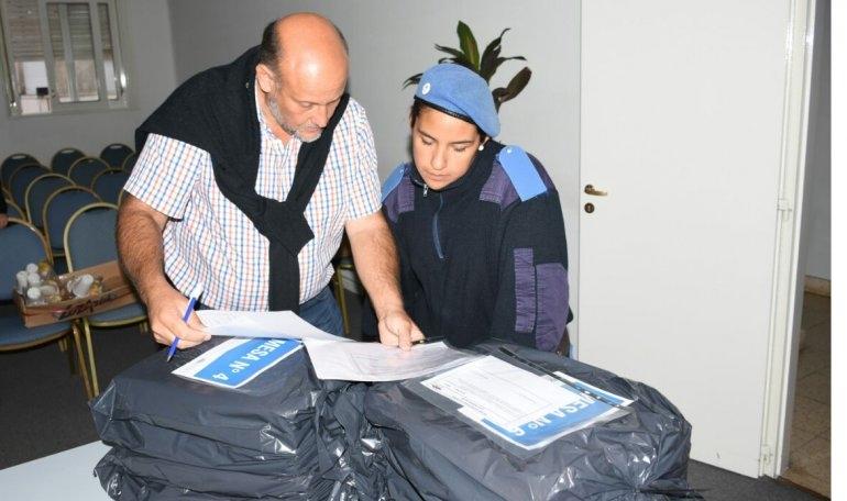 Se realizó el traslado de urnas a las localidades