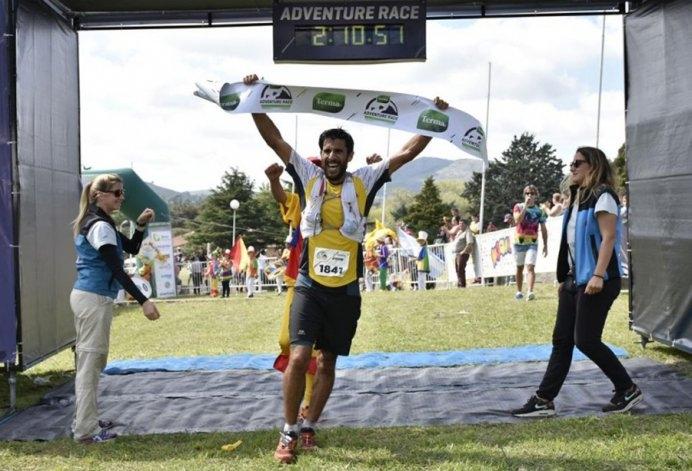 Oscar González se impuso en la Terma Adventure Race