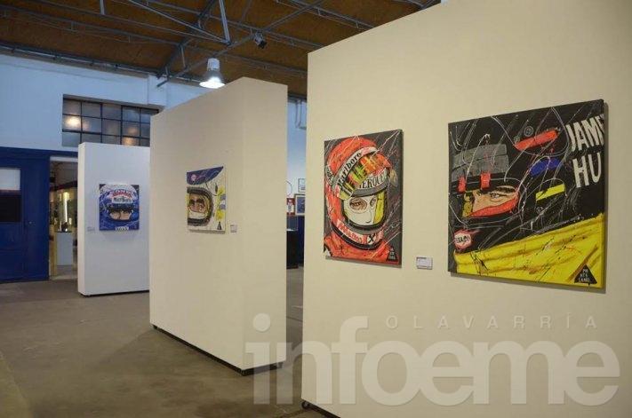 """Se inauguró """"Pintura de automovilismo deportivo"""""""