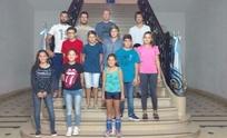 Trece nadadores recibieron una beca municipal