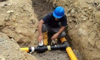 Ampliarán la red de gas en barrios y localidades