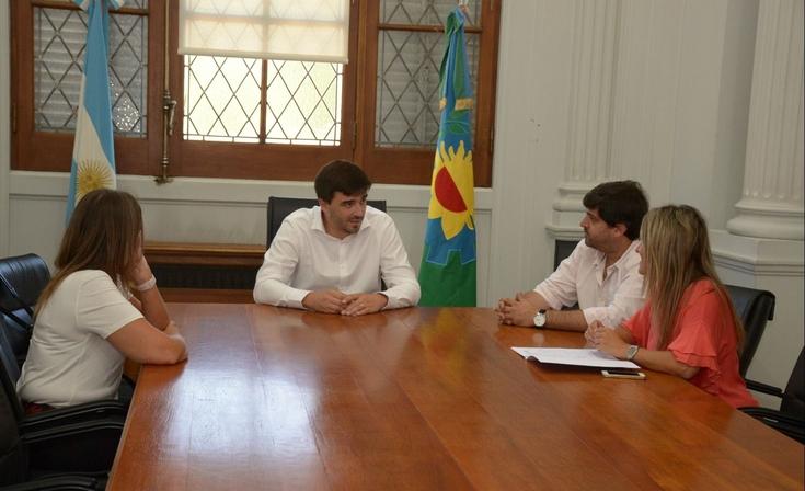Ezequiel Galli recibió a las autoridades de la FACSO