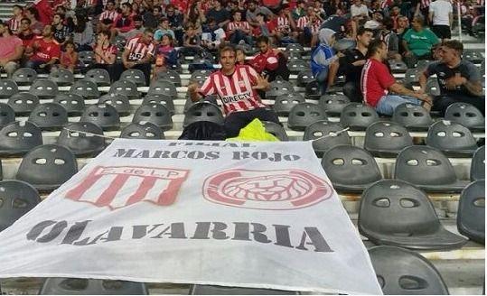 """Olavarrienses """"pinchas"""" en el debut de local de su equipo en la Copa Libertadores"""