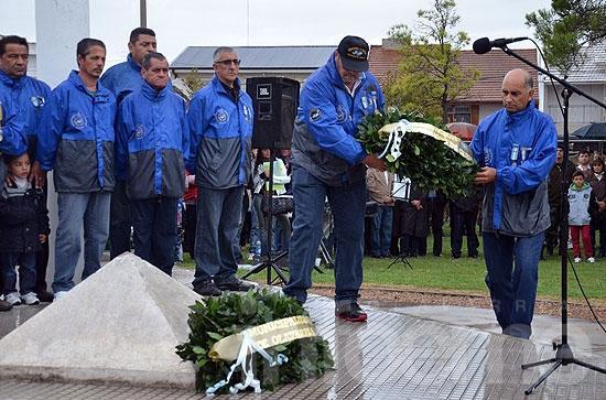 Emotivo homenaje a los caídos en Malvinas