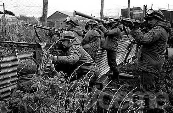 Testimonios de ex combatientes sobre la guerra