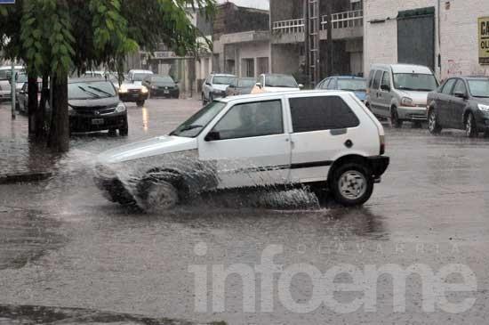 Lluvia en la Ciudad y mal tiempo hasta el domingo