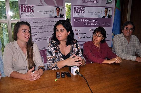 Presentaron la tercera Expo Mujeres Trabajando