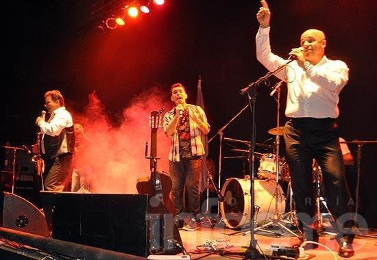 Hittaller, Sosa y Santana emocionaron en Complejo París