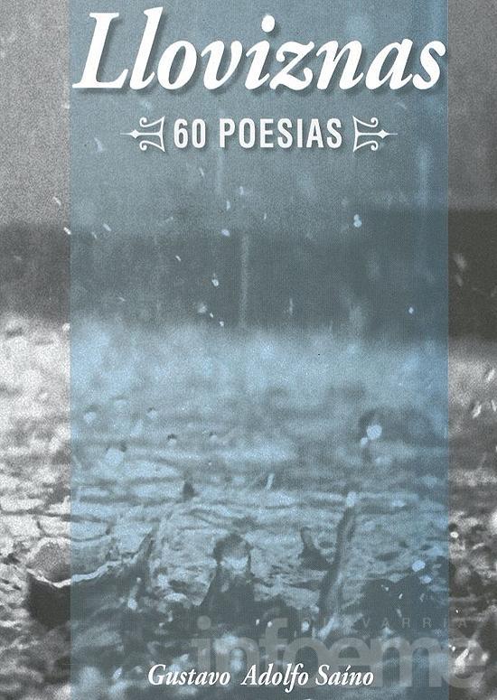 "Gustavo Saíno presenta su libro ""Lloviznas"""