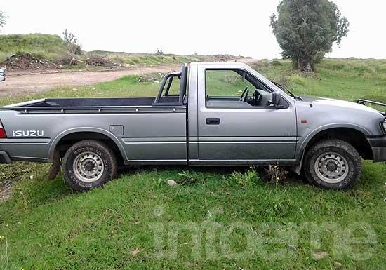 Hallan una camioneta robada en zona rural