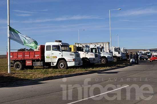 Paro de la CGT: camioneros prepara cortes de ruta