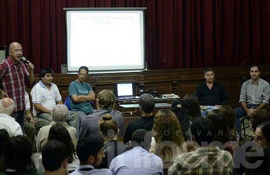 Ex combatientes hablaron de Malvinas en la Escuela Normal