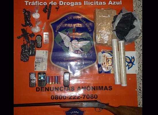 Allanamientos: secuestran droga e investigan prostitución infantil