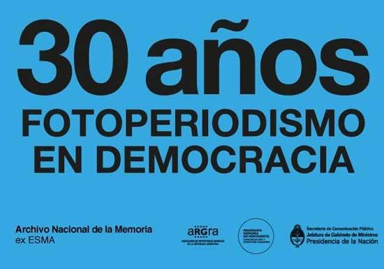 Inauguran una muestra sobre los 30 años de democracia