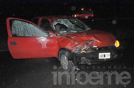 Murió la mujer que protagonizó un accidente en ruta 226
