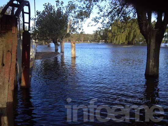 Lluvia y viento afectaron en un 80 % al sistema rural eléctrico