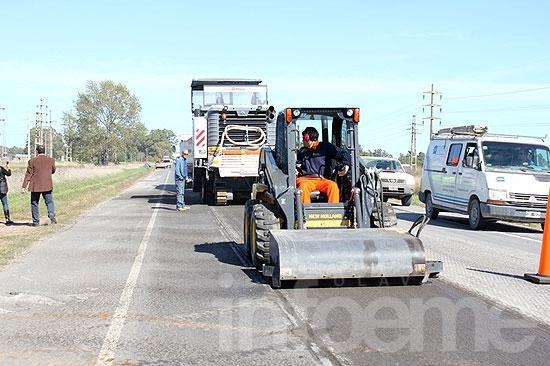Comenzó la segunda etapa de obras viales en la Ruta 51
