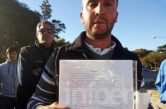 Protesta en Sierras Bayas por presunto abuso a una menor