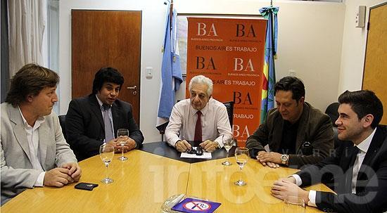 Concejales del FPV se reunieron con el ministro de Trabajo bonaerense