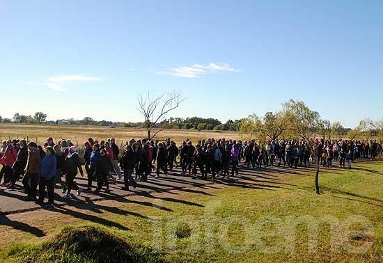 Cientos de fieles peregrinaron a la Virgen de la Loma