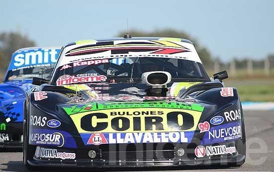Pezzucchi clasificó quinto y larga en la primera fila