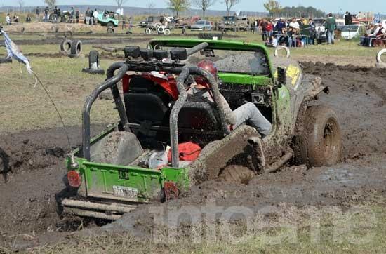 En el autódromo los Jeep fueron el espectáculo