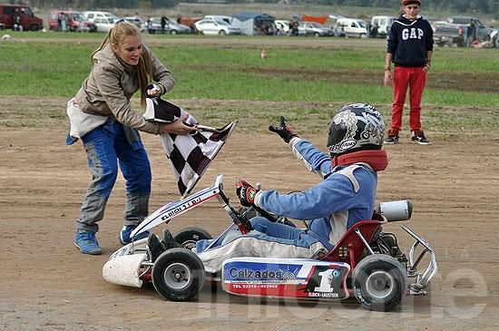 El karting brindó buenos espectáculos