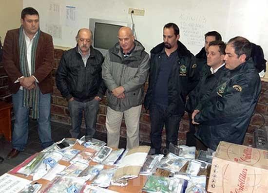 Desarticulan banda regional que vendía droga, en gran operativo