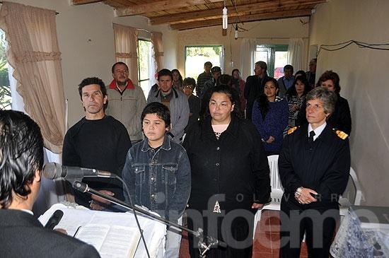 Olavarría tiene su segundo ahijado presidencial
