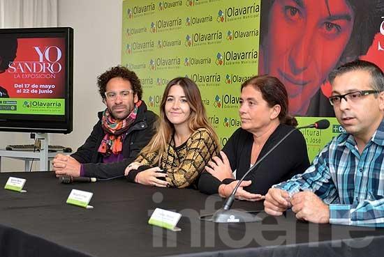 """La muestra """"Yo, Sandro"""", llegará al Centro Cultural"""
