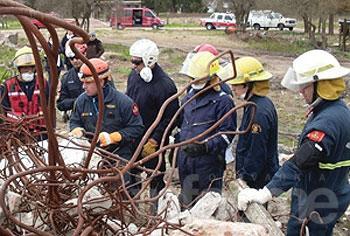 Cerca de 150 bomberos participarán de un simulacro