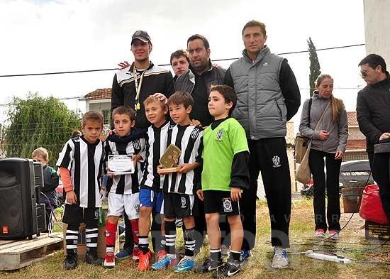 Más de 800 niños participaron del Encuentro de Fútbol Infantil