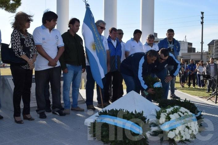 A 33 años de la Gesta de Malvinas se realizó el acto oficial