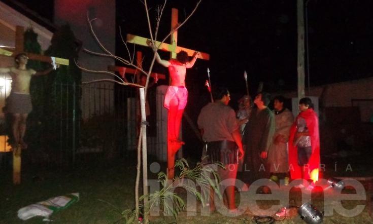 Vía Crucis en el Barrio Luján