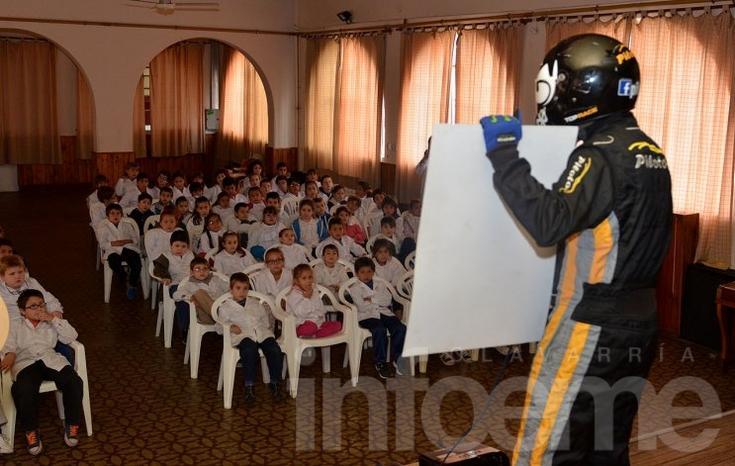 Antes del Top Race, tiempo de la educación vial