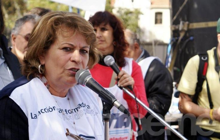 Mirta Petrocini estará en la vigilia docente de UDO