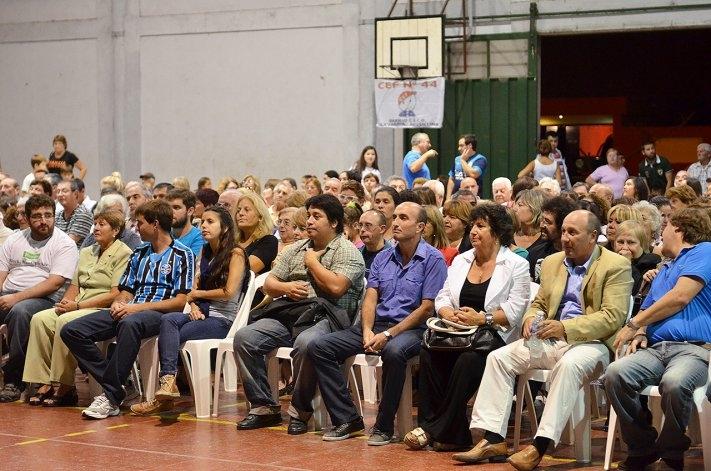 """En un emotivo acto, el CEF 44 adoptó el nombre de """"Oscar Raúl Landoni"""""""