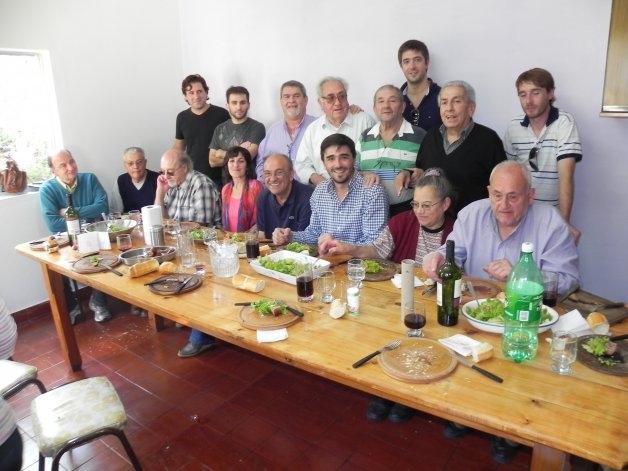 Galli y los radicales, juntos en un almuerzo