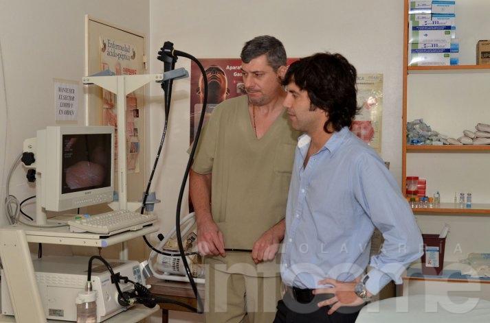 Gastroenterología con nuevo equipamiento