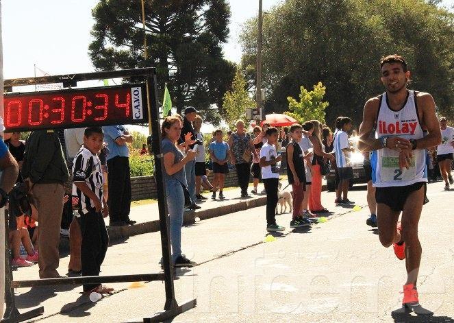 "Landaburú arribó cuarto en la carrera ""A Pampa Traviesa"""