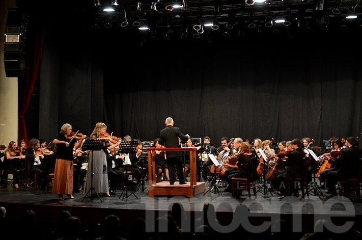 """El primer concierto de """"Clásica y Solidaria"""" fue a beneficio de la Escuela Nº503"""