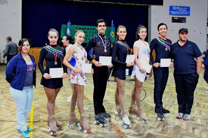 Boca se trajo 15 medallas de Pigüé