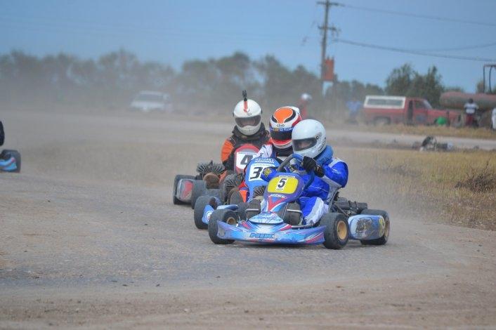 Benito Juárez tuvo espectáculo con el Karting